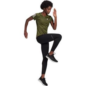adidas OWN The Run T-Shirt Dames, wild pine
